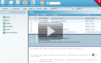 View our WebMail Demo